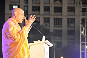 Radhanath Swami speaks on spiritual practice
