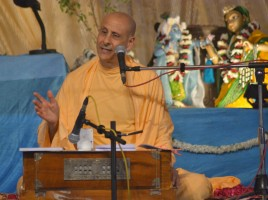 Radhanath Swami says, 'No! Spirituality is not about escaping the world.'