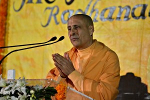 Radhanath Swami speaks on time